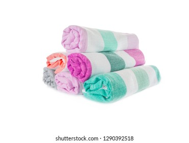 towels isolated background