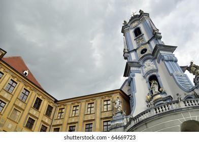 Tower of the Abby in Duernstein, Wachau, Austria