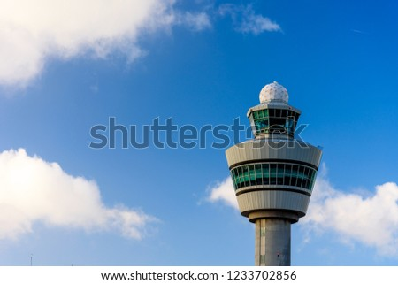 The tower in airport