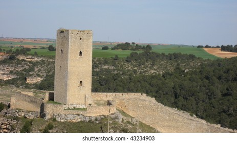 Tower in Alarcon,Cuenca,Spain