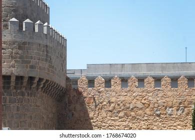 Alcázar tower of the Avila's rampart wall