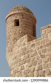 Tower of Bahrein Fort, Bahrein.