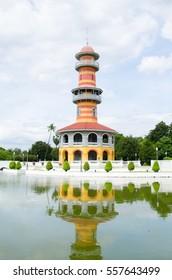 Tower at Bang Pa-In Royal Palace, Ayuthaya, Thailand