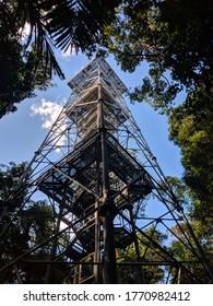 tower of the botanical garden of manaus