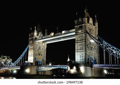 Tower Bridge at night?London