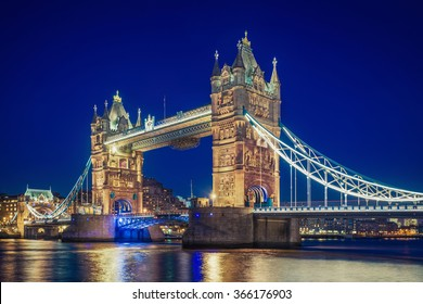 Tower Bridge at the blue hour