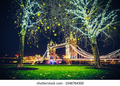 Tower Bridge in Christmas