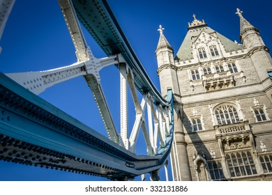 Tower Bridge crosses the River Thames close to the Tower of London and has become an iconic symbol of London was constructed in June 1894