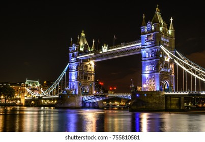 Tower Bridge is a famous icon of London that was built in 1894 on river Thames. Each tower reaches a height of 65 meters.
