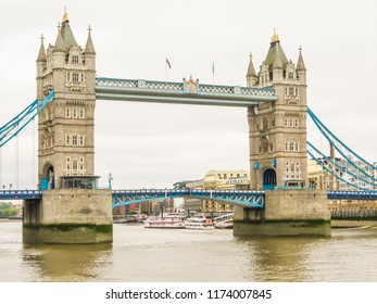 Tower Bridge, iconic victorian bridge through the Thames River. London, United Kingdom