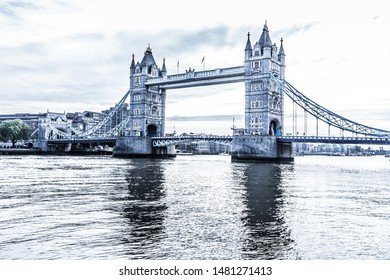 Tower Bridge in London HDR