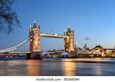 Tower bridge of London is the most famous landmark and tourist attraction.