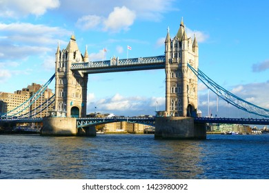 Tower Bridge London and River Thames