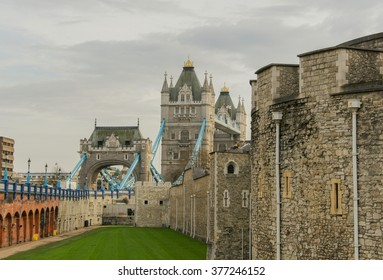 Tower Bridge and Tower of London, London, United Kingdom