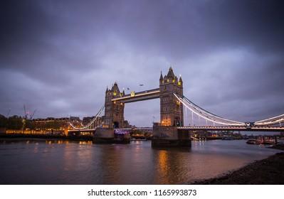 Tower Bridge in the night