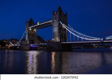 Tower Bridge night and sunset