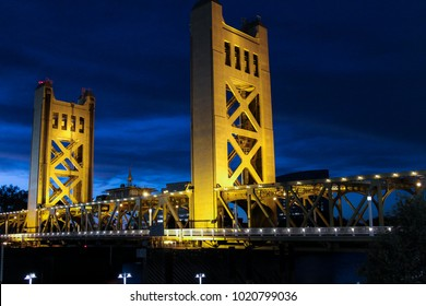 Tower Bridge in Sacramento, CA