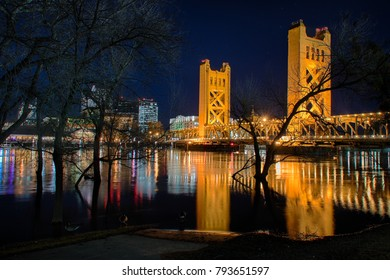 Tower Bridge and Sacramento River