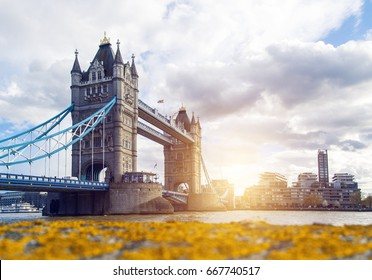 Tower Bridge at Spring, London