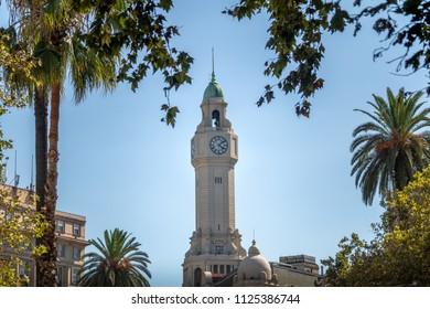 Tower of Buenos Aires City Legislature - Legislatura de la Ciudad de Buenos Aires - Buenos Aires, Argentina