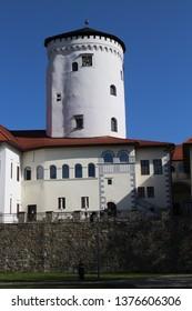 Tower of Budatín castle, Žilina region, Slovakia