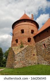 The tower of castle Trakai, Lithuania