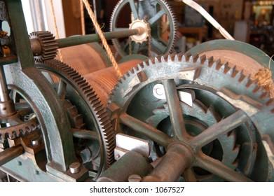 Tower Clock Gears