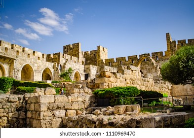 tower of david fortifications in Jerusalem