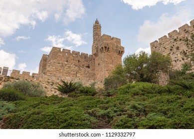 The Tower of David in the Old City of Jerusalem