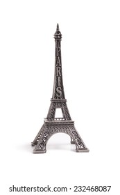 tower figurine on a white background