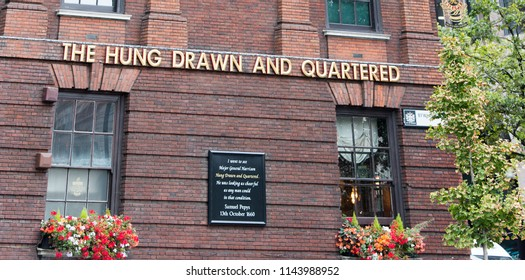 The Hung Drawn And Quartered Pub Takes Its Name