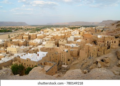 "Tower houses of Shibam town in Hadramaut valley, Yemen. UNESCO World Heritage site, often referred as ""the oldest skyscraper city in the world"" or ""the Manhattan of the desert"""