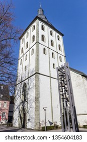 Tower of the Jakobi church in Lippstadt, Germany