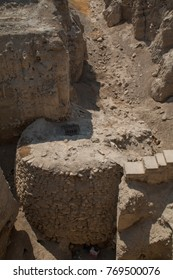 Tower of Jericho, Tell es-Sultan, Archaeological Site, Jericho, West Bank, Palestine, Middle East