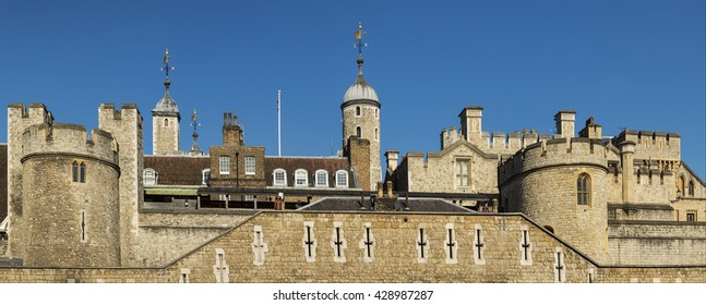 Tower of london with blue sky