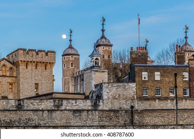 Tower of London in the evening