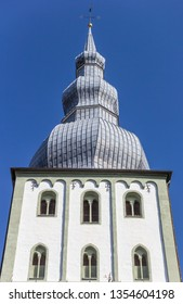 Tower of the Marien church in Lippstadt, Germany