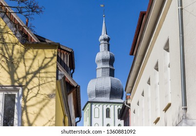 Tower of the Marienkirche church in Lippstadt, Germany