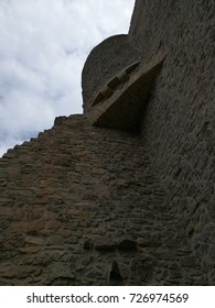 tower of a medieval castle
