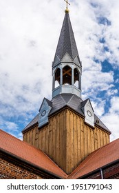 tower of medieval Cistercian monastery in Kolbacz, Poland