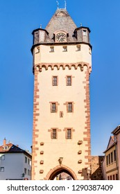 Würzburg Tower in Miltenberg in Lower Franconia, Bavaria