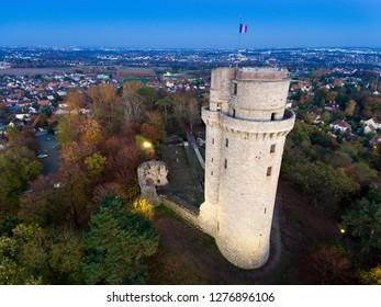Tower of Montlhery, Essonne, France