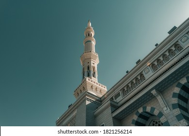 Tower of Nabawi Mosque, Medina, Masjid Nabawi