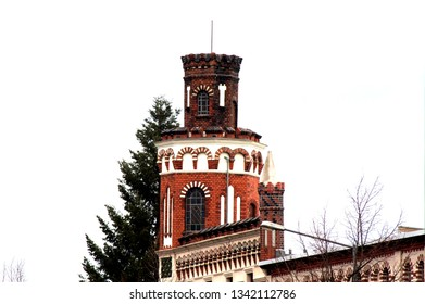 Tower of an Old Building house in Dessau-Roßlau