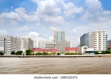 tower on chao phraya river