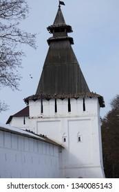 tower Paphnutiev-Borovsky monastery