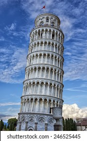 The tower of Pisa situated in Tuscany, Italy is considered to be one of the seven Wonders of the Medieval World.