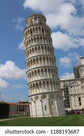 Tower of Pisa in Tuscany, Italy