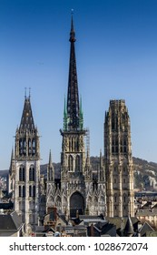 Tower of rouen Cathedral