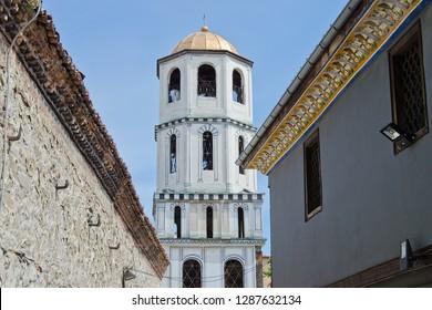Tower of Saints Constantine and Helena (Sveti Sveti Konstantin i Elena) Church in Plovdiv, Bulgaria